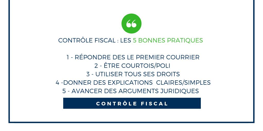 controle fiscal bonnes pratiques