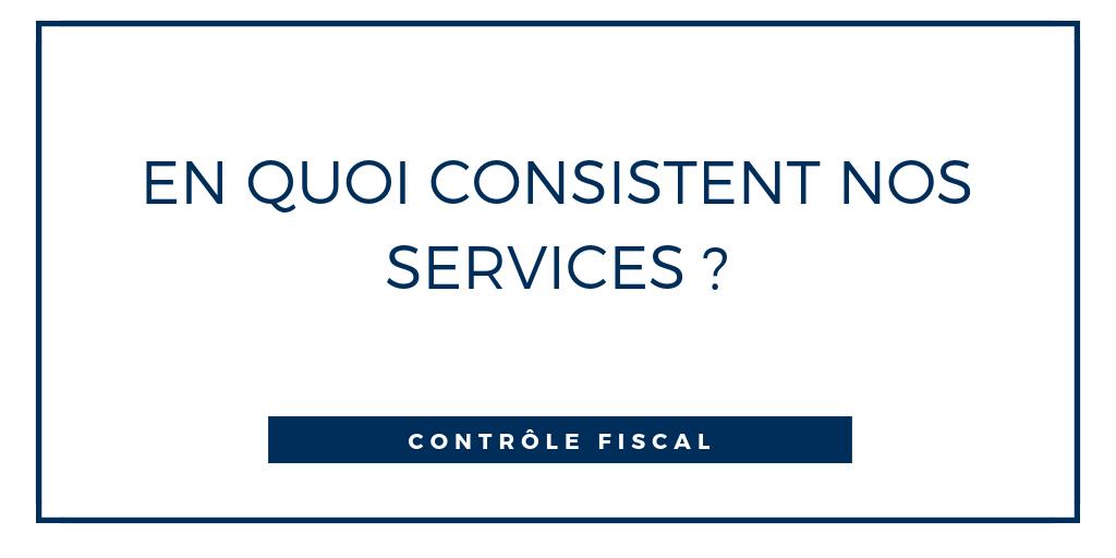 controle fiscal les services du cabinet